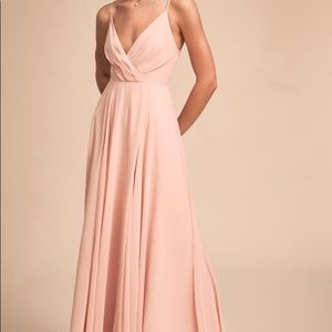 BHLDN bridesmaid dress Eva